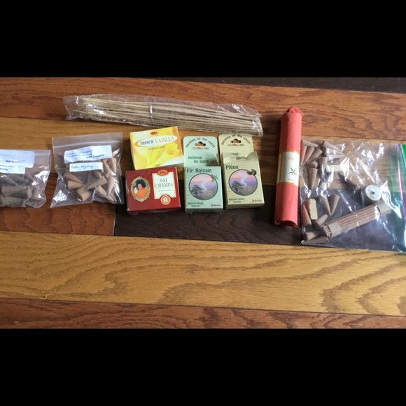 Incense assortment plus holder some New some open